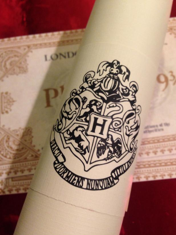 Invitation to Christmas at Hogwarts