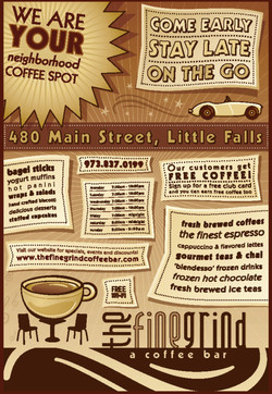 The Fine Grind - A Coffee Bar