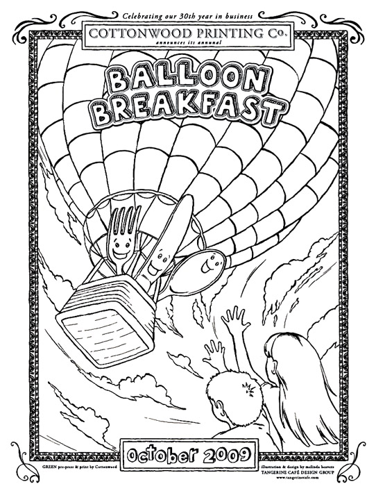 Balloon Breakfast, Cottonwood