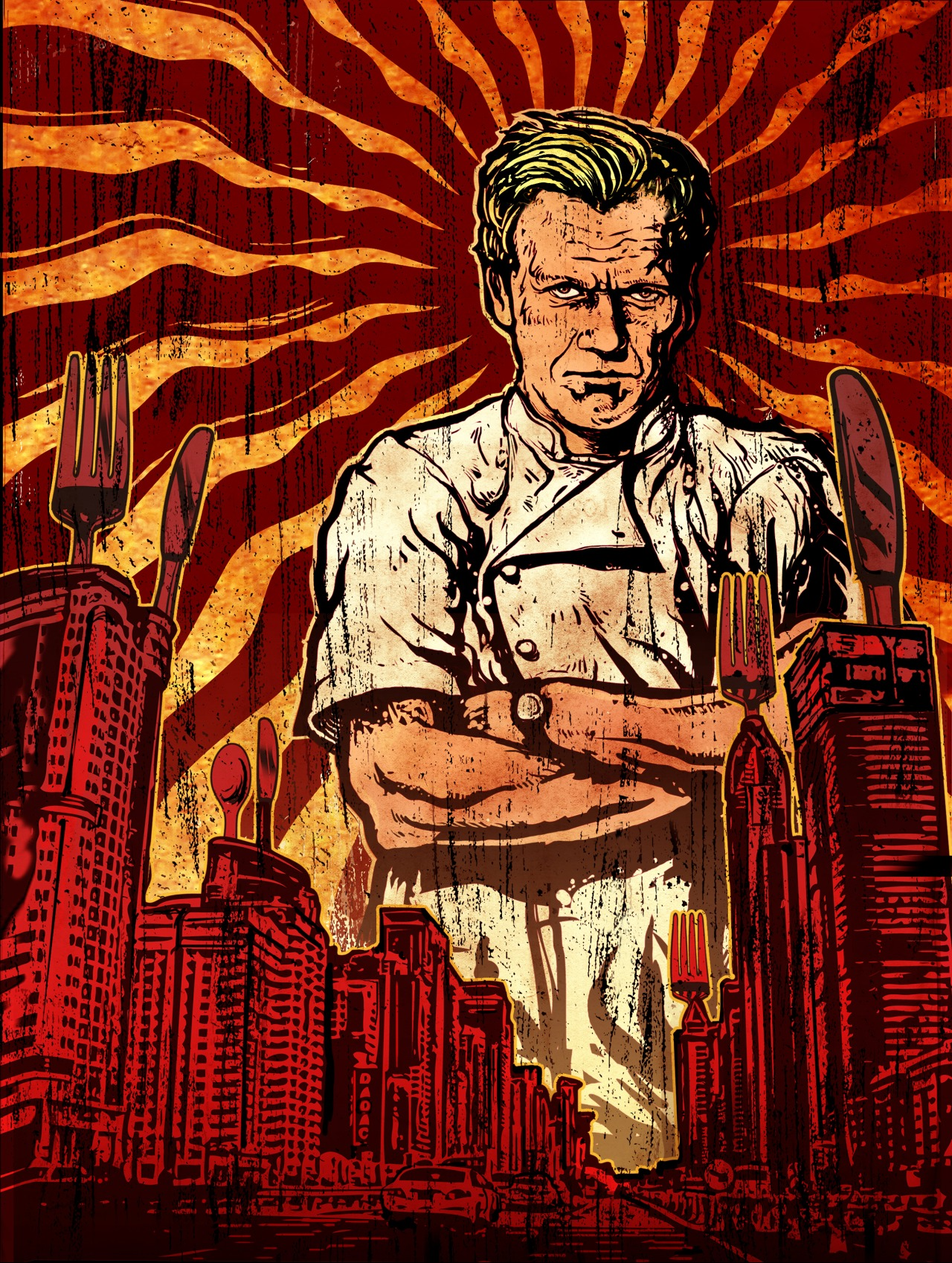 Gordon Ramsay for Time Out New York