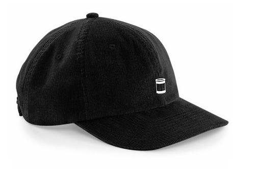 Noir Cord Hat