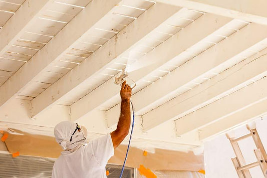 Exterior-Painting-with-Airless-Paint-Spr