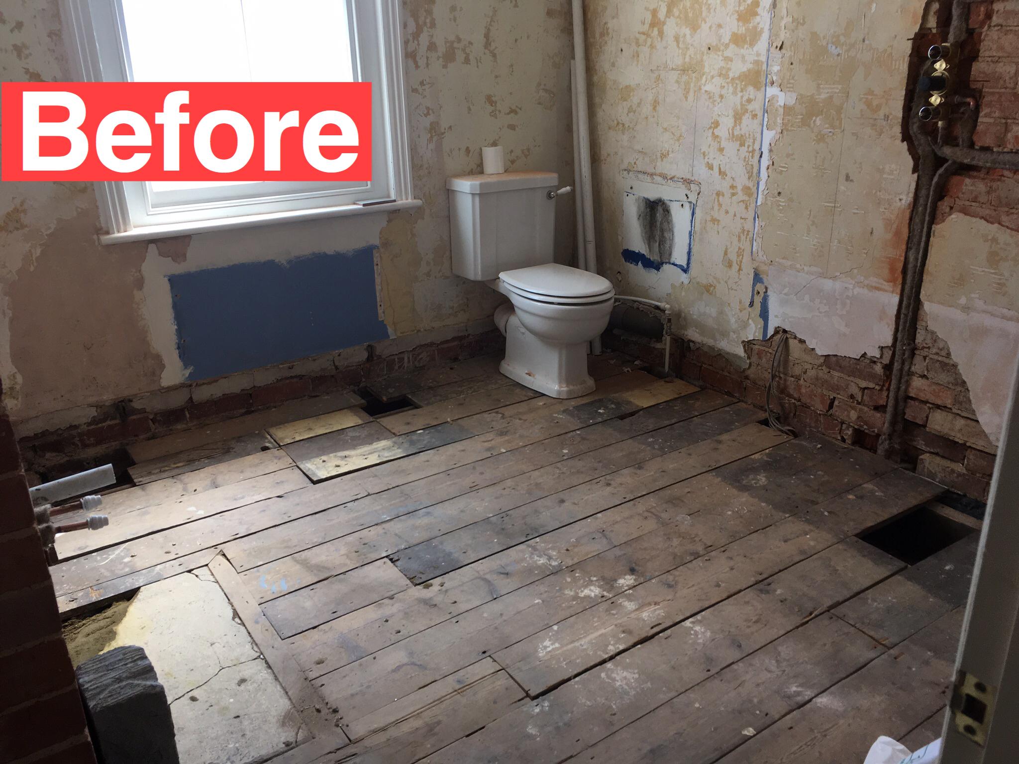 Bathroom Design & Plastering