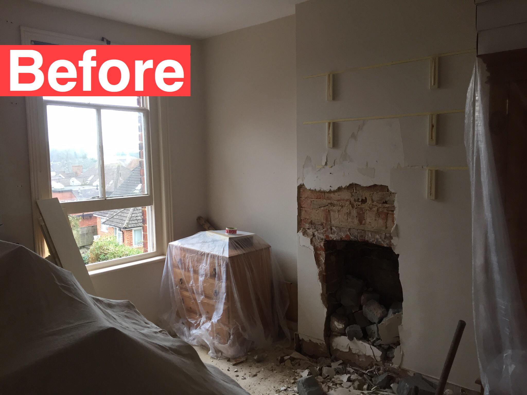 Bedroom Design & Full Refurb