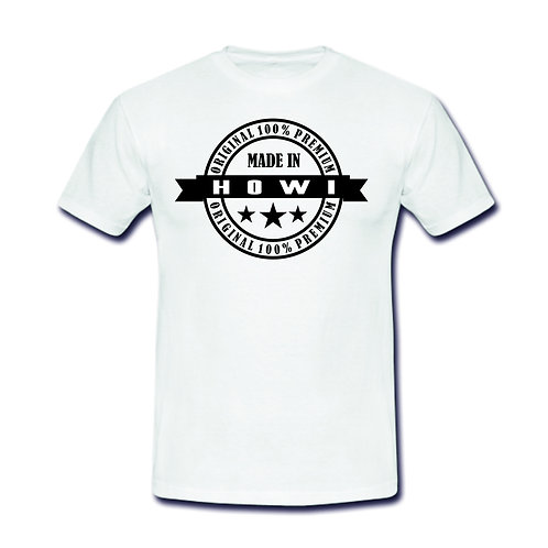 Herren Shirt Motiv: HOWI