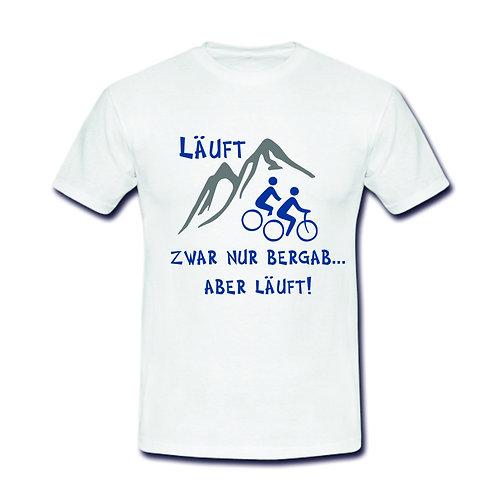 Herren Shirt Motiv: Läuft