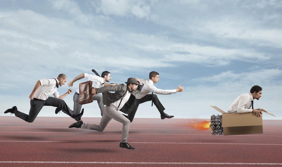 A transformação digital da concorrência