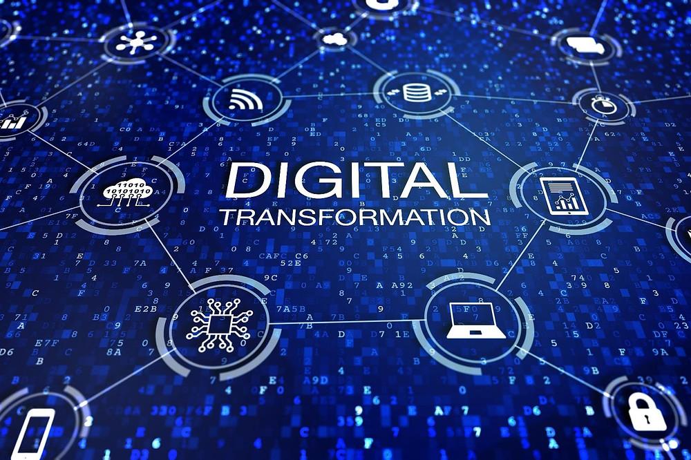 Embora a transformação digital nos elementos que melhoram interação com os clientes sejam as mais visíveis, as organizações também beneficiam substancialmente com a digitalização dos processos internos, da capacitação dos trabalhadores e da gestão do desempenho.