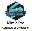 José Góis - Certificado Stukent Mimic Pro