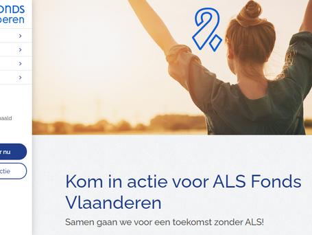 ALS Fonds Vlaanderen lanceert gloednieuw actieplatform voor fondsenwerving