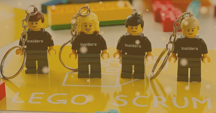 LINKEDIN LEGO scrum GAME - Hot Site sem