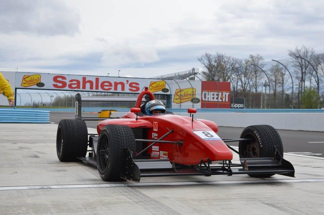 Lee Alexander Formula Atlantic Comprent Motor Sports