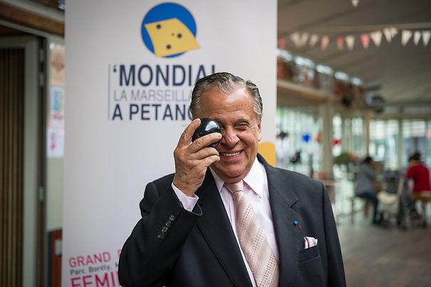 Mondial à Pétanque - Michel Montana