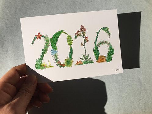 2016 POSTCARD COLOR