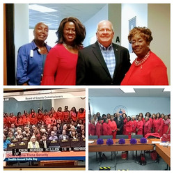 Delta Day at the County Commission
