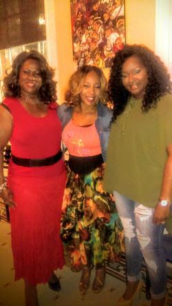 Veronica, Lucinda, and Paula