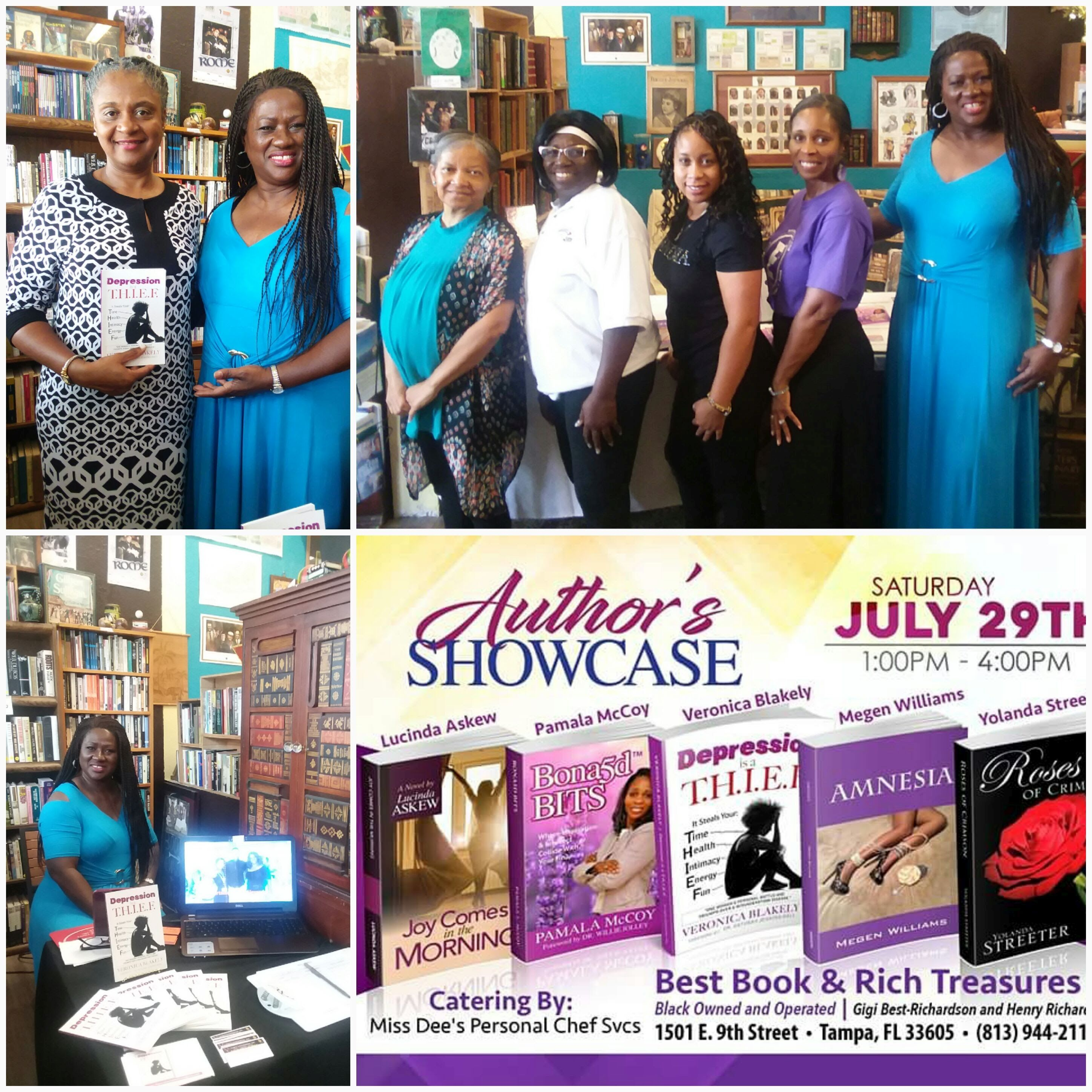 Authors Showcase - Collage