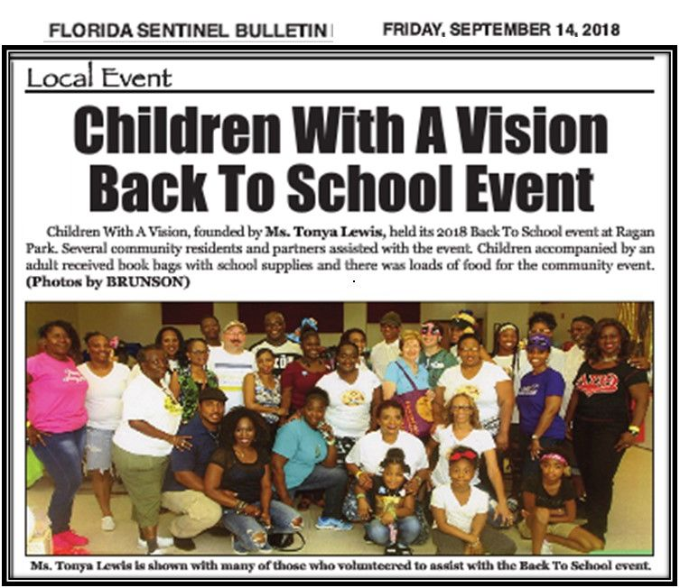 Volunteers - Back to School Bash