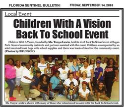 Volunteers - Back to School Bash