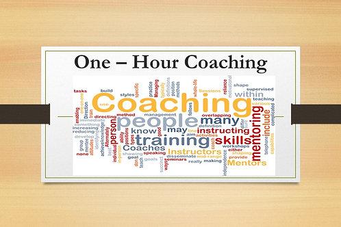1 - Hour Coaching