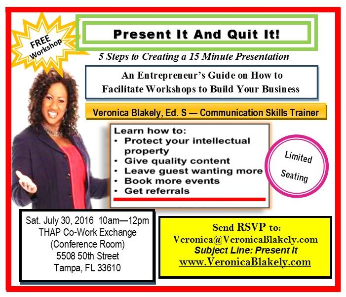 Present it and Quit It - Workshop Flyer-Date