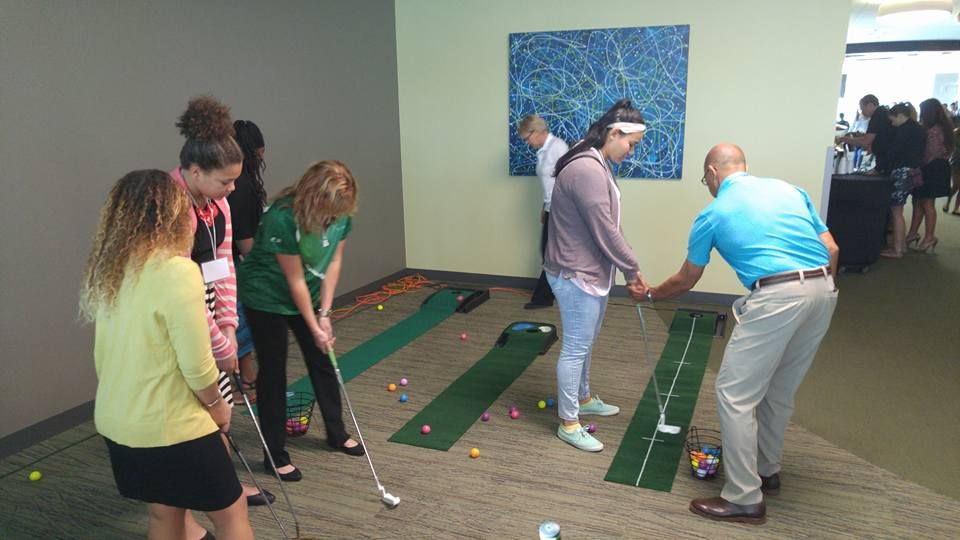 Golf Clinic for Summit Attendees