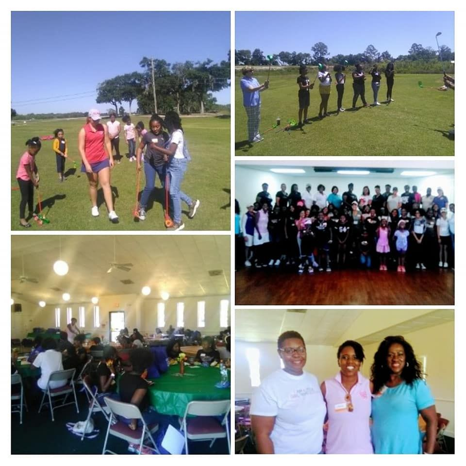Polk Girls Rock - Golf & Leadership