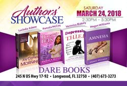 2018 - Authors Showcase - Mar 24
