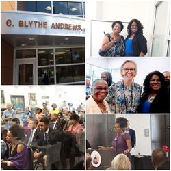 C. Blythe Abdrews Library Opening