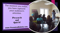 P and Q - Captured Audience Attention