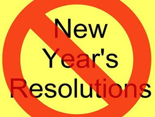 Making Resolutions Is Not a Solution