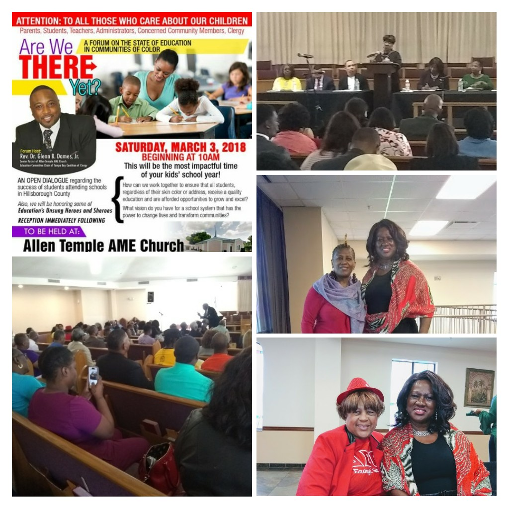 Education Forum - Allen Temple