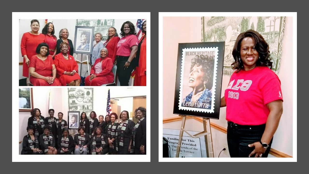 Lena Horne Forever Stamp Ceremony