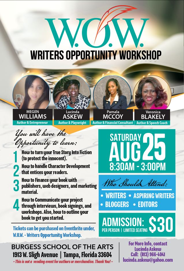 W.O.W.- Writers Opportunity Workshop