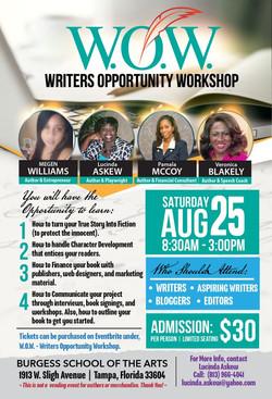 W.O.W.- Writers Opportunity Workshop