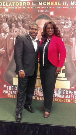 Del Mc Neal and Veronica Blakely