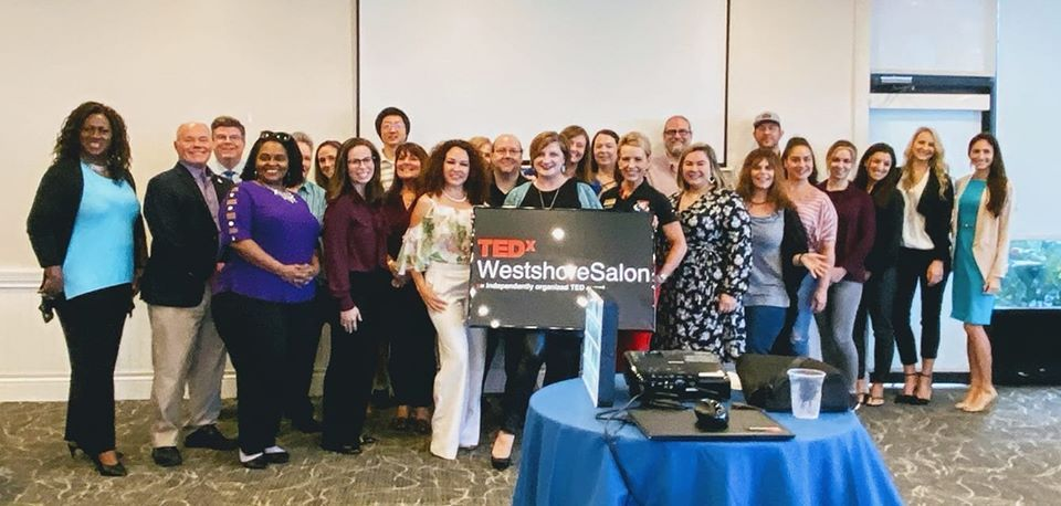 TEDx Westshore Salon Group Jan 2020