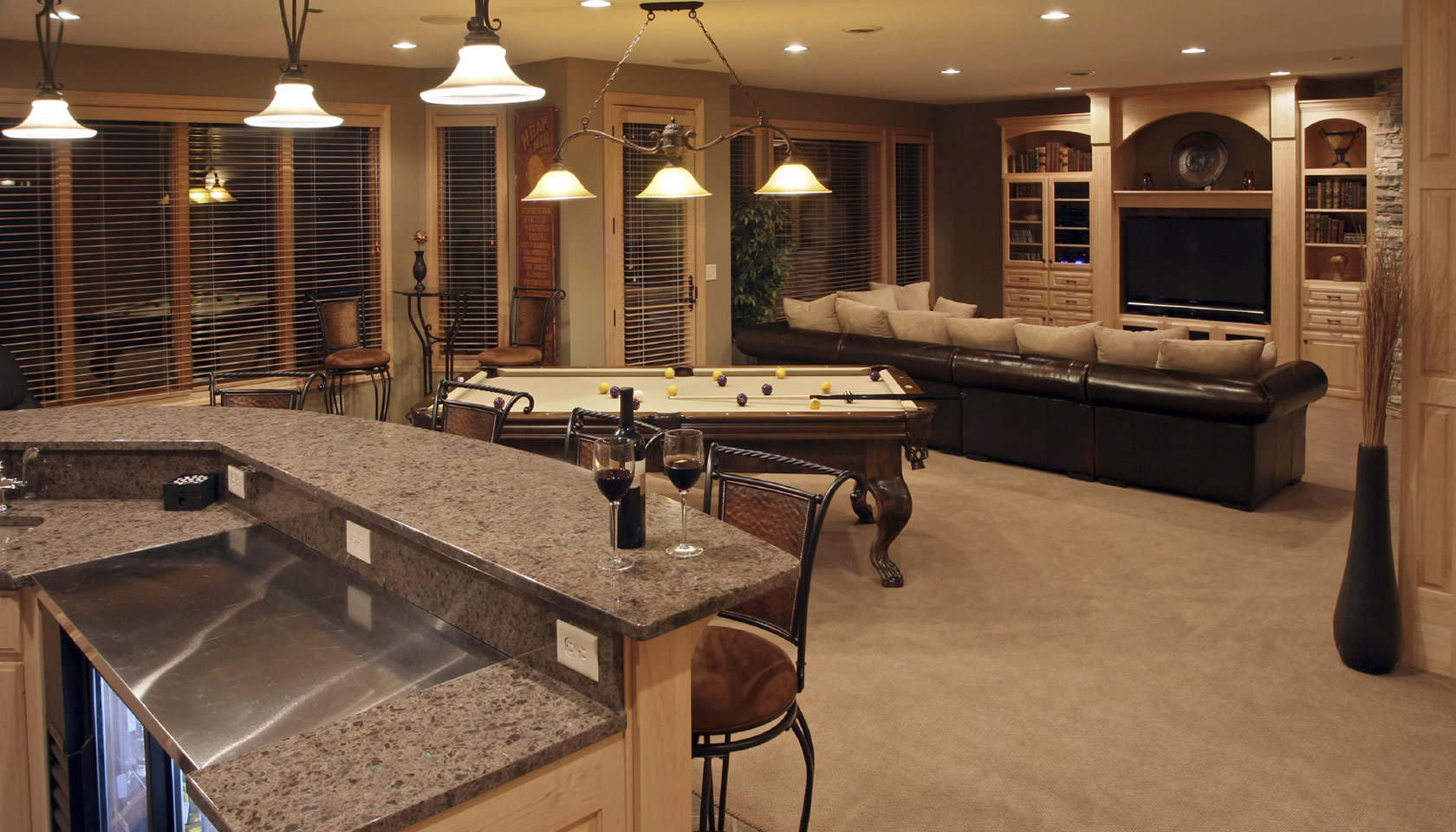 Remodel Basement Specialist Mark Goodson Homes Georgia