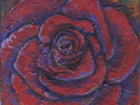 A Painting a Day #7 - The Rose