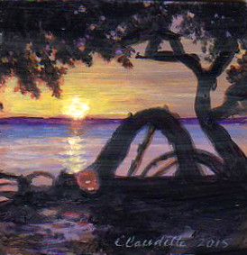 A Painting a Day #53 -  Mangrove