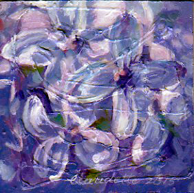 A Painting a Day #39 -  Lovely Lilacs