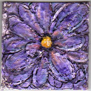 A Painting a Day #20 - Flower Power