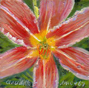 A Painting a Day #67 -  Star Lily