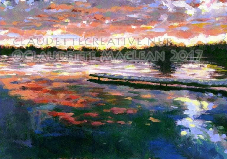 Lac la Nonne Sunset
