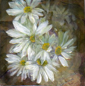 A Painting a Day #52 -  Daisy-a-day