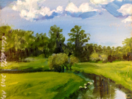 A Painting a Day #83 - Creekside