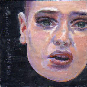 A Painting a Day #70 -  Sinead O'Connor
