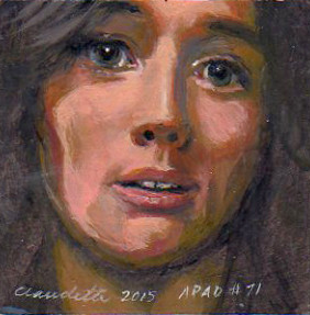 A Painting a Day #71 -  Famous Portraits Series: Brandi Carlile