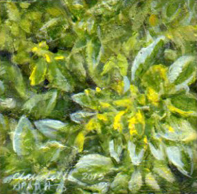A Painting a Day #75 -  Greenery