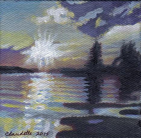 APAD_03 Lac la Nonne Sunset